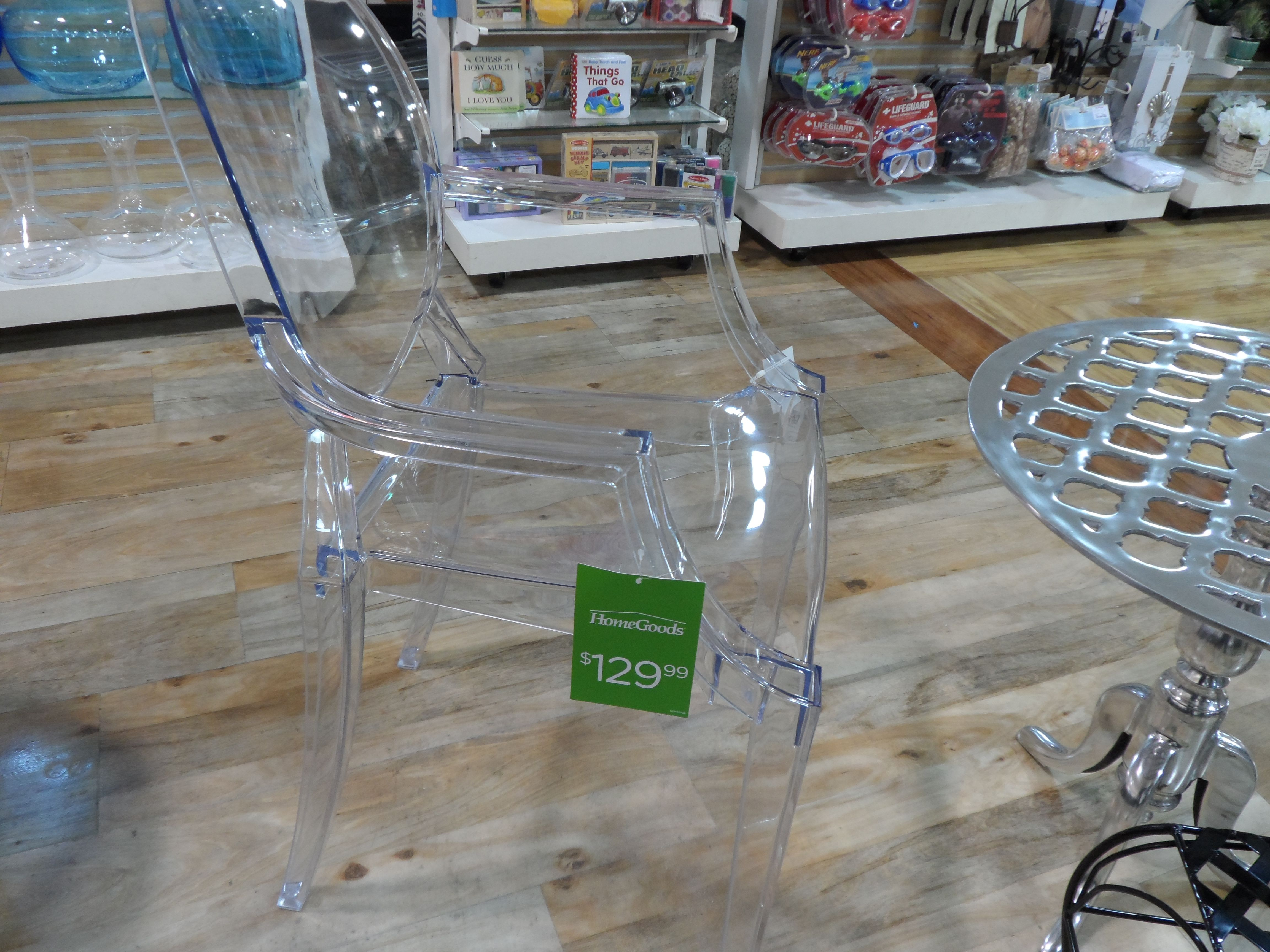 Acrylic ghost chair Home Goods Shopping Pinterest