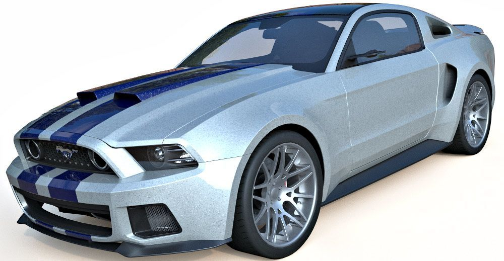 Ford Mustang Gt 3d Model Ford Mustang Gt Mustang Gt Ford Mustang