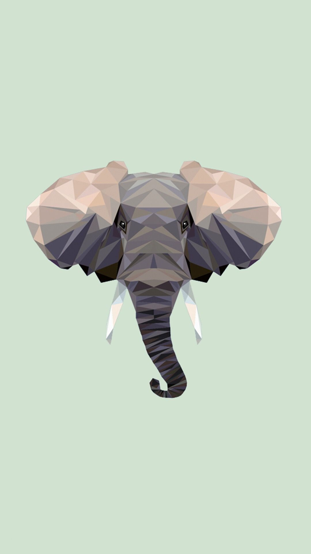 Pin De Leeghan En Iphone Wallpapers Fondo De Elefante Arte De