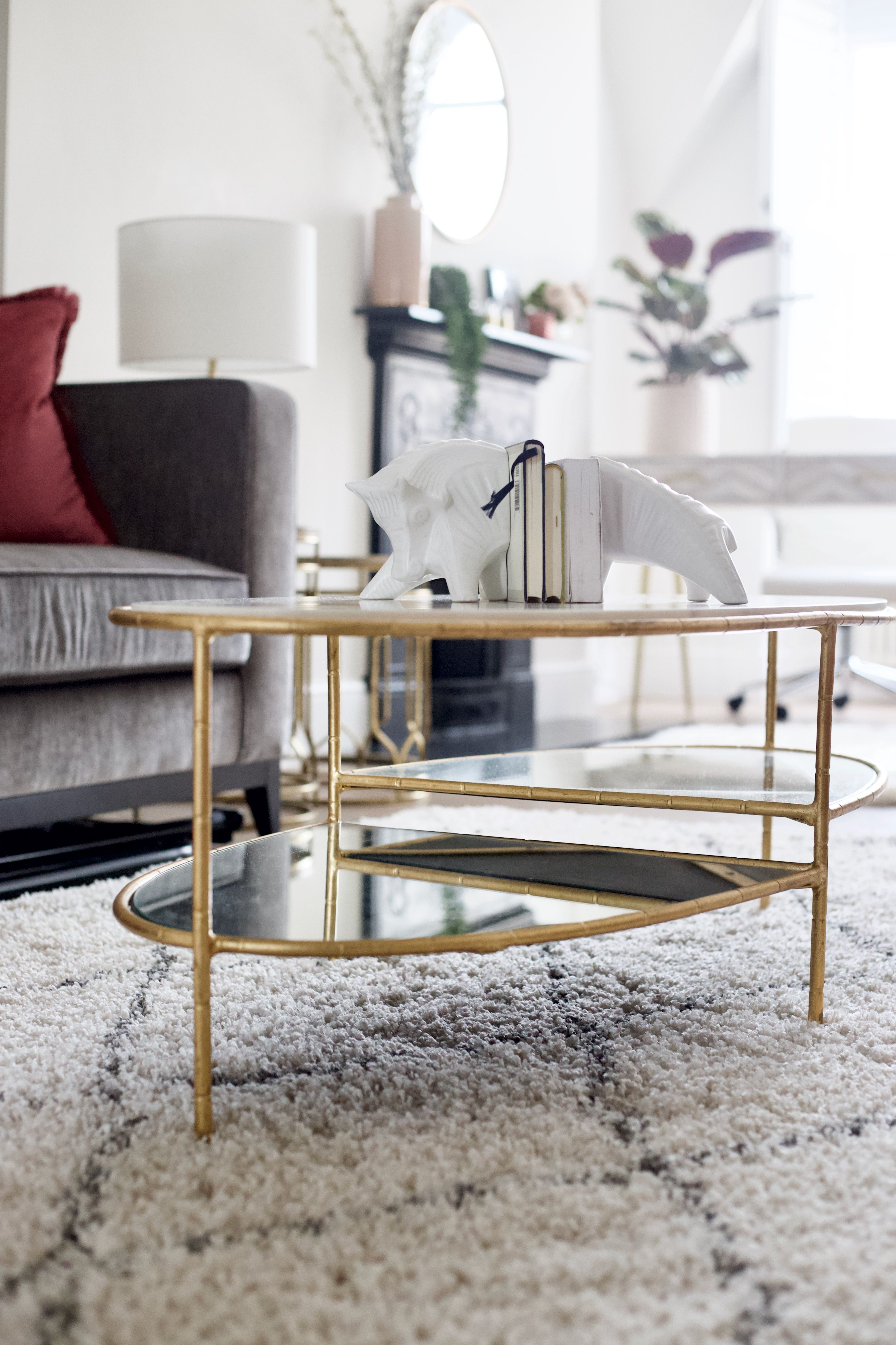 Glass Gold Coffee Table From Oliver Bonas Glass Dining Room Table Oval Glass Dining Room Table Luxury Coffee Table