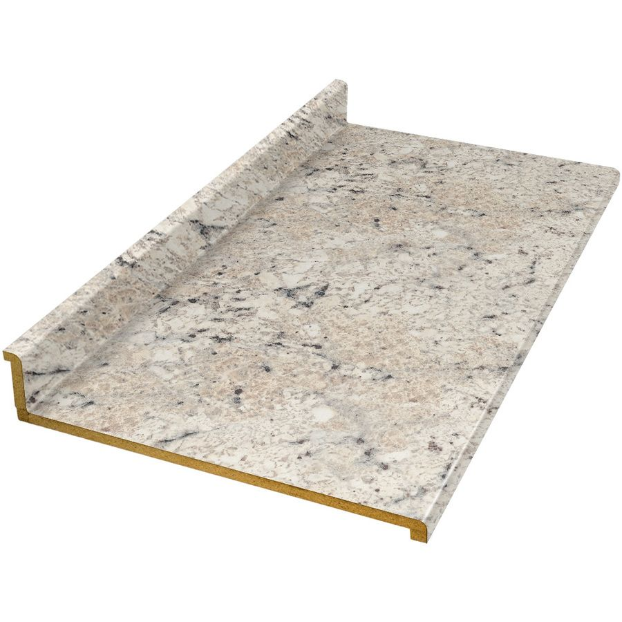 Shop Vti Fine Laminate Countertops 8 Ft Ouro Romano Etchings