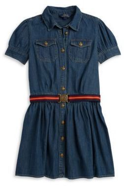 b584ff83a5 Ralph Lauren Denim Shirt Dress
