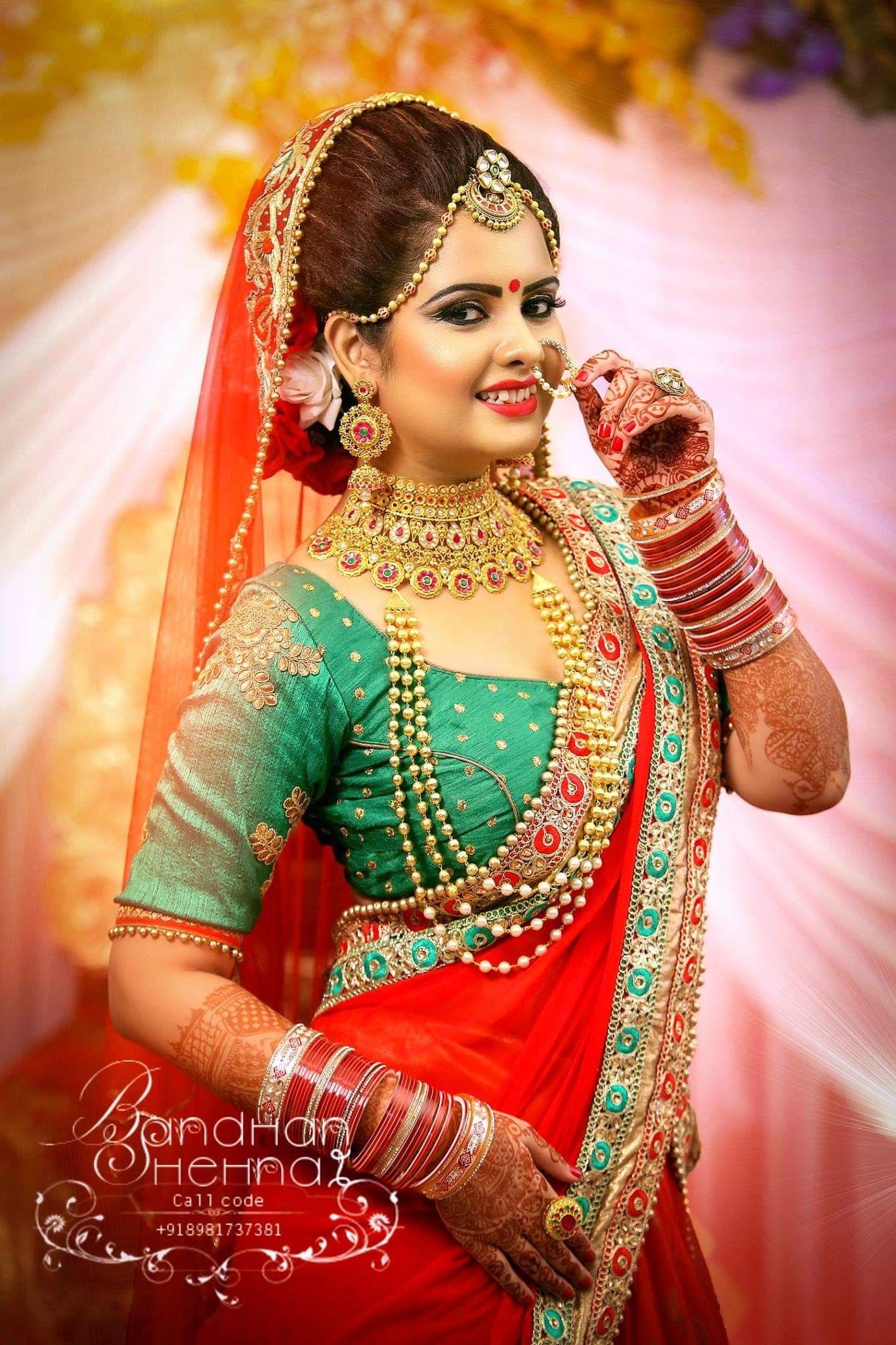 Gold jewelry by Sadaf Naik Bridal photography poses