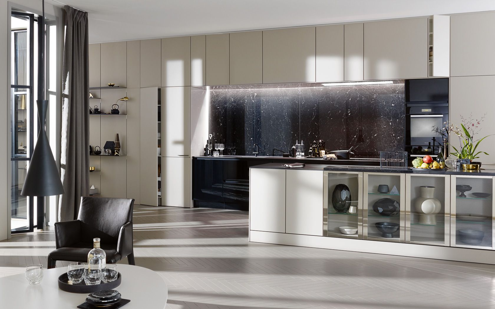 Smart Design Keukens : Siematic se lm keuken smart design de laden en