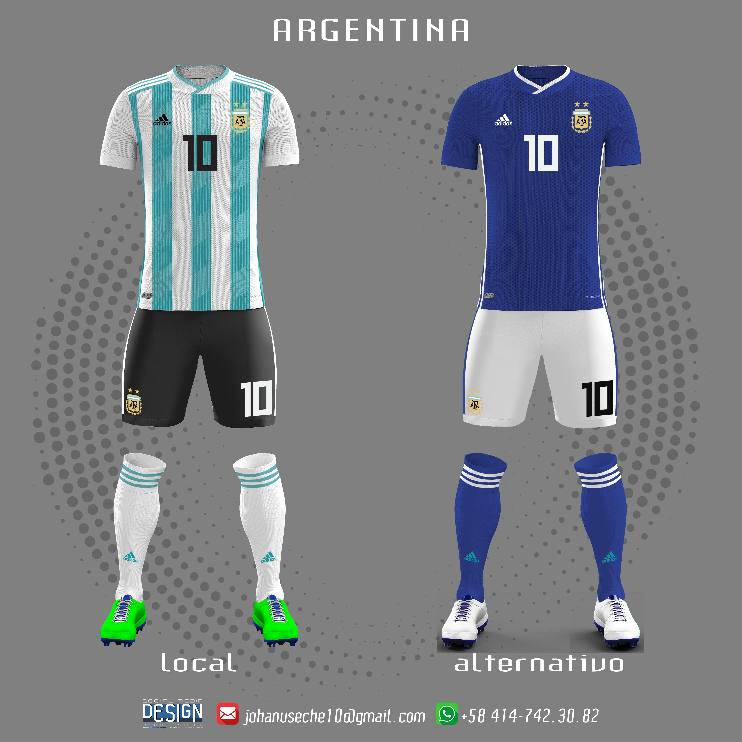 0f67b7032 kit Argentina copa américa 2019 (no oficial)