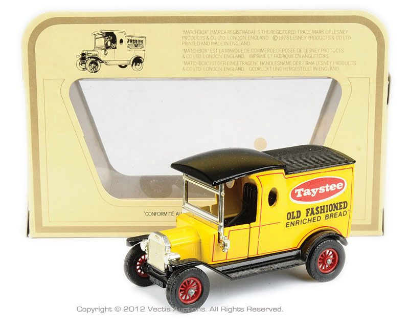 Matchbox Models Of Yesteryear No Y12 3 1 Ford Model T Van Taystee