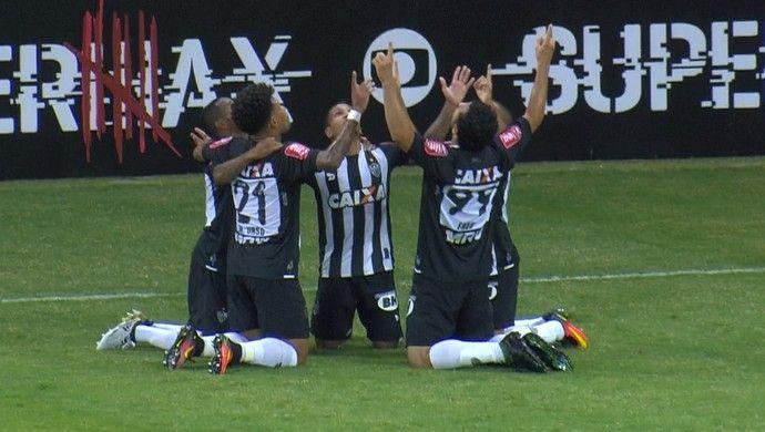 Fred; Atlético-MG; América-MG (Foto: Reprodução/Premiere)