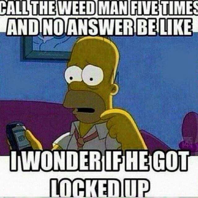 weed man meme