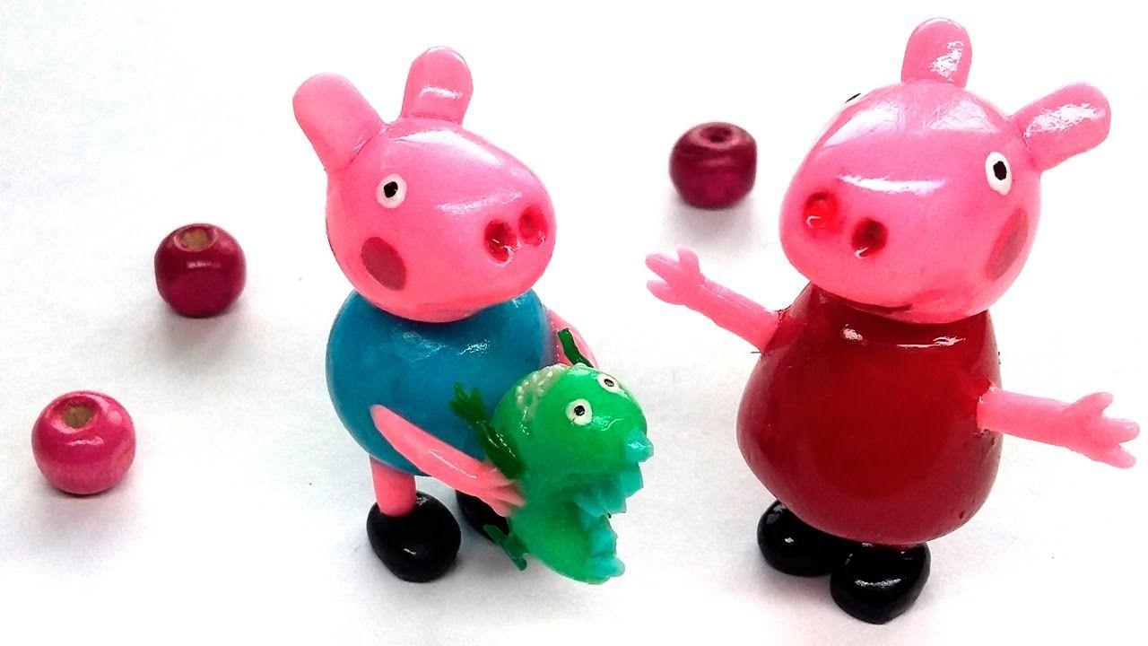 tutorial: miniature Peppa Pig, George & Mr Dinosaur ...