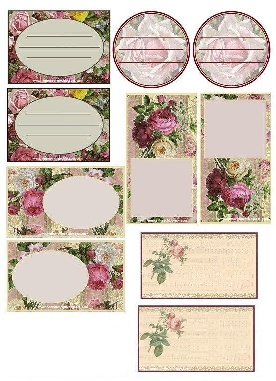 Etiquette etiquettes imprimer pinterest fleuri - Etiquettes personnalisees gratuites a imprimer ...