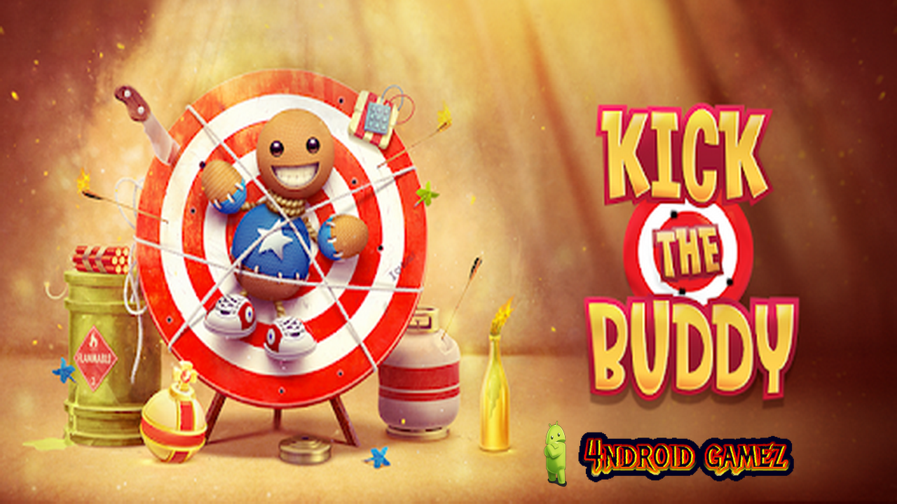Watch Trailer and download android game Kick the Buddy v1