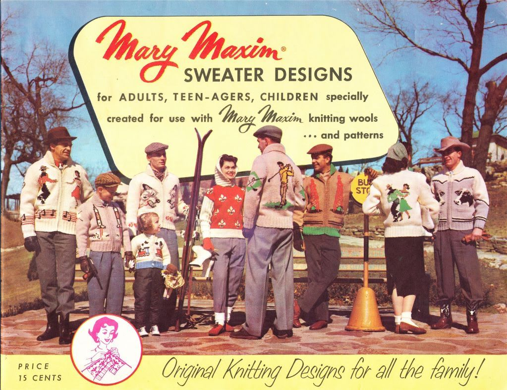 e4c949abc20e5d what-i-found  Mary Maxim Sweater Designs - Original Knitting Designs for  all the family!
