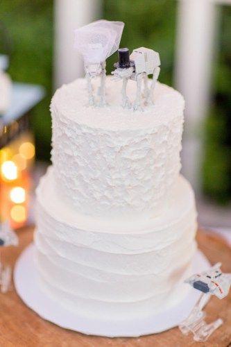 DIY Star Wars AT Wedding Cake Topper