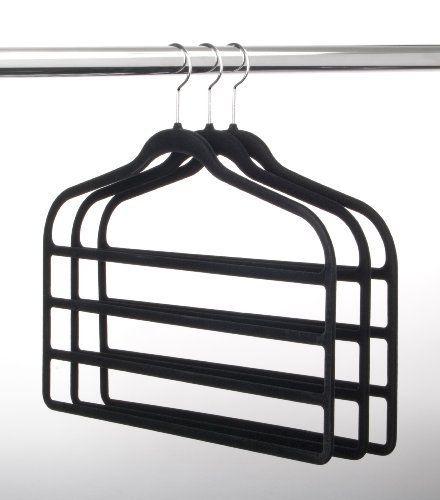 Slim Velvet 4 Bar Pant Hangers Look For Them At Costco Pant