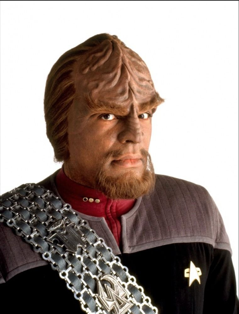 Star Trek : Nemesis - Michael Dorn as Commander Worf.