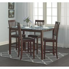 Cayman 5pc High Top Dining Set Kmart