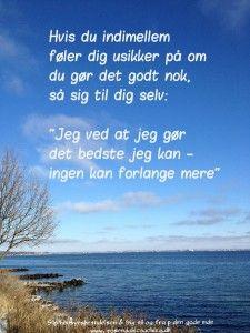 et godt citat om livet Citater om livet og Du gør det så godt du kan | Foreign Language  et godt citat om livet