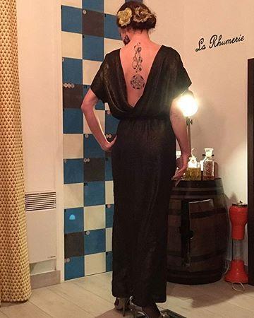 Sew House Seven Bridgetown Backless Dress pattern - lengthened ...