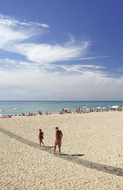 Alegria Maripins Fergus Maripins Hotel On The Costa Maresme Is Very Close To The Beaches And The Town Centre Where There Is A Beach Coastal Towns Outdoor