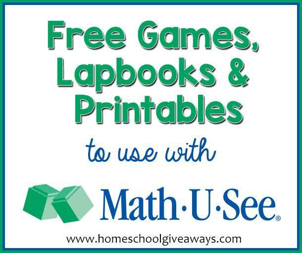 Math U See Worksheets Math U See Math Homeschool Math