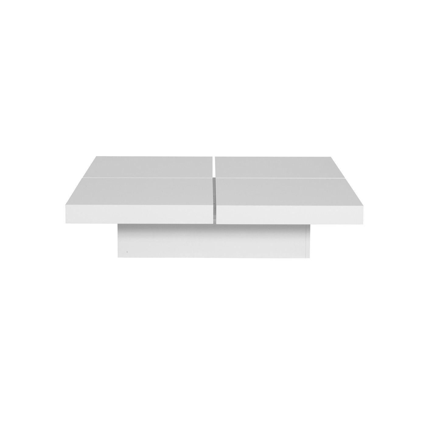 A four squared coffee table with low profile and optional storage a four squared coffee table with low profile and optional storage geotapseo Images