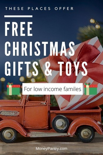 7 Ways To Get Free Christmas Toys Gifts For Low Income Families Moneypantry Free Christmas Christmas Gifts For Kids Presents For Kids