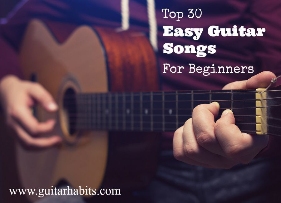 easy songs to play on guitar for beginners