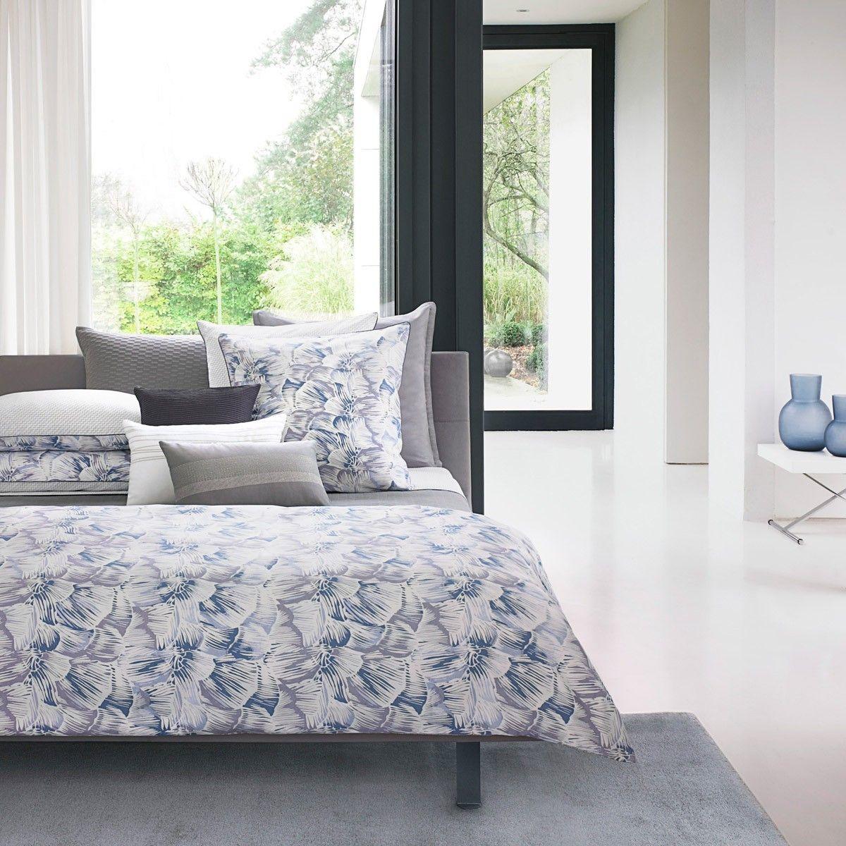 parure reflects grey achat vente de parures de lit imprim es haut de gamme olivier desforges. Black Bedroom Furniture Sets. Home Design Ideas