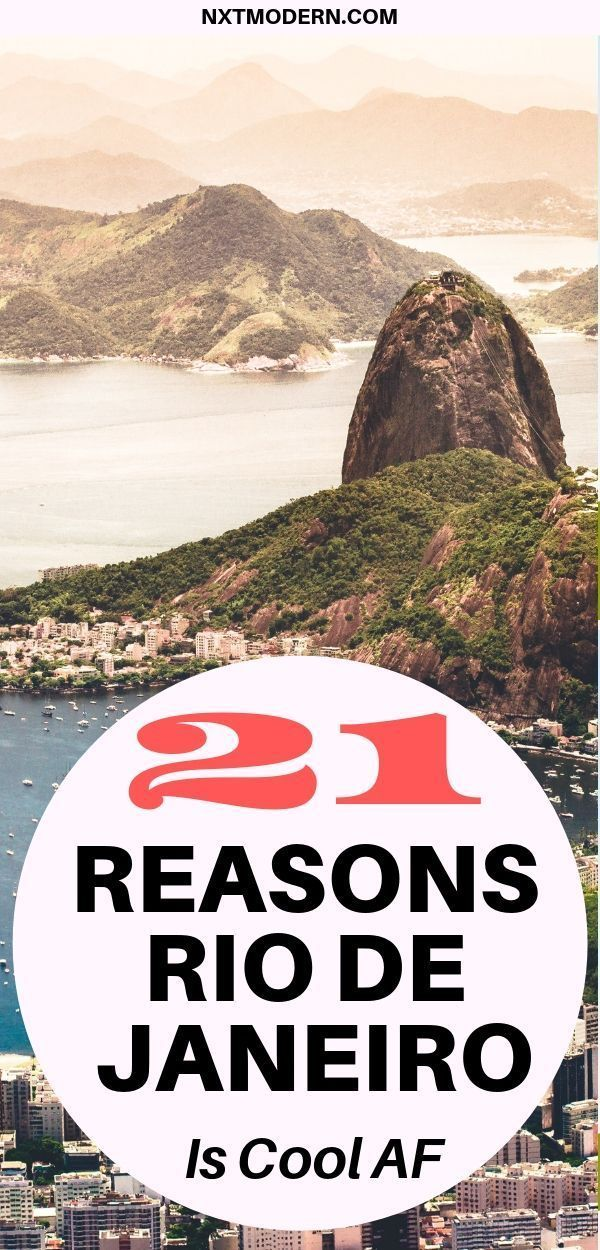 21 Reasons Why Rio De Janeiro Is Cool AF
