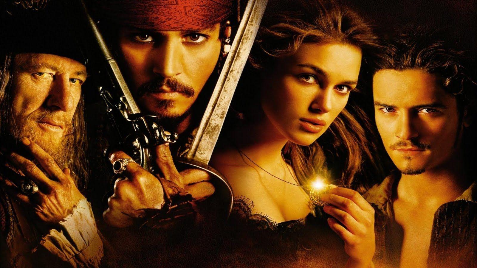 Pirates Of The Caribbean Barbossa Jack Elizabeth Will