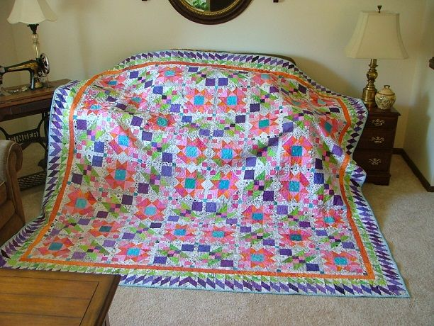 Bonnie Hunter's Quiltmake Mystery..Lazy Sunday | Quilts - Bonnie ... : lazy sunday quilt pattern - Adamdwight.com