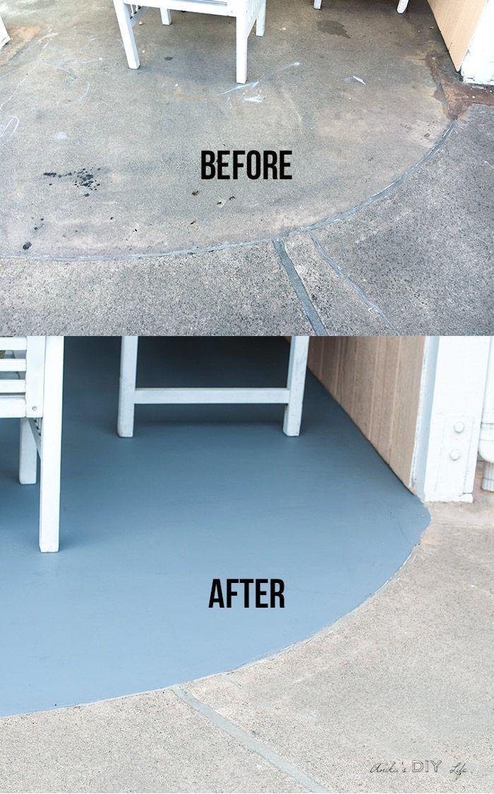 Diy Concrete Flooring Makeover: How To Stain Concrete Floors
