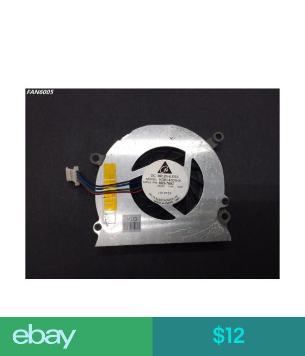 12 Apple A1150 Cpu Cooling Fan Macbook Pro 15 Left 603 7892