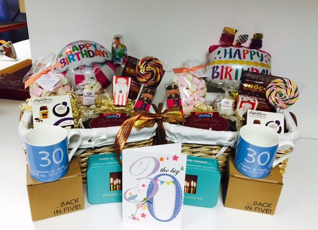 30th Birthday Gift Baskets For Twin Sisters