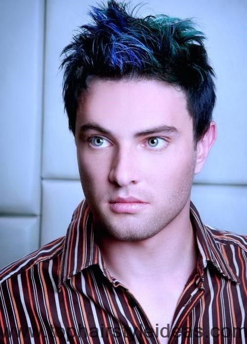 The Different Colors Which Can Be Tried In Hairstyles For Men