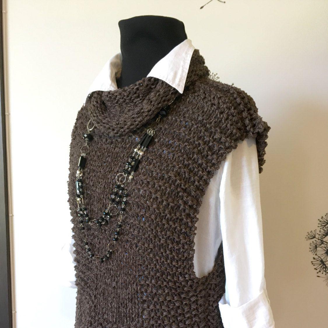 Knitting Pattern / Knit Sweater pattern/ Knit Vest Pattern ...