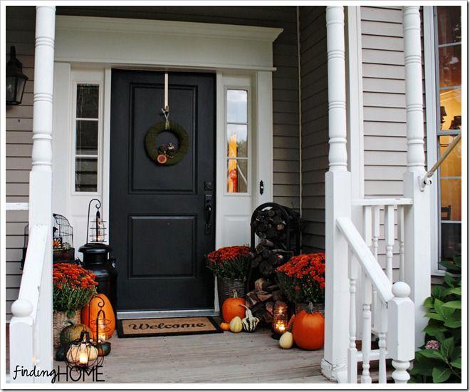 Good A Fall Front Door Makeover, Doors, Seasonal Holiday Decor