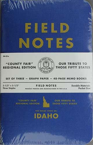Field Notes County Fair  Idaho  Edc    Field Notes