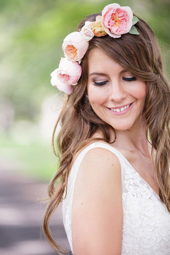 Ottawa Pink And Navy Whimsy Wedding Floral Accessories Hair Wedding Hair And Makeup Wedding Hairstyles For Long Hair