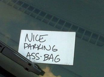 POPHANGOVER » Blog Archive » The 10 Best Notes Left On Cars