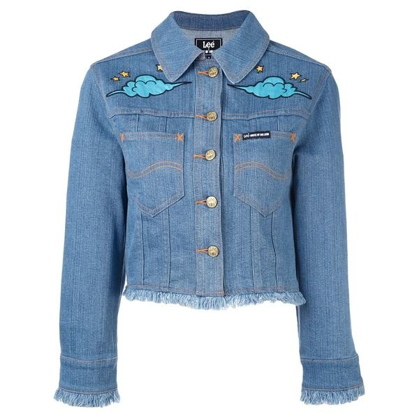 House Of Holland 'Hoh x Lee Collaboration' Jeansjacke ...