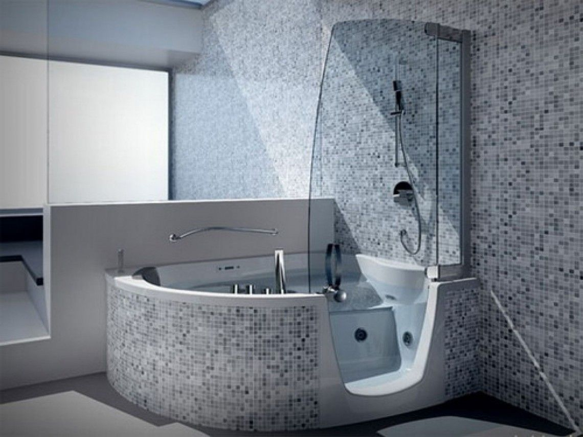 Various Selections Of Modern Style Soaking Tubs In Showers Good ...