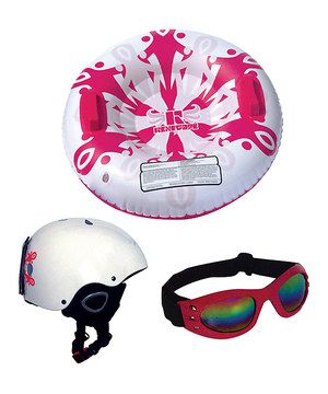 Another great find on #zulily! Renegade Snow Sports Pink Snow Sliding Starter Kit by Renegade Snow Sports #zulilyfinds