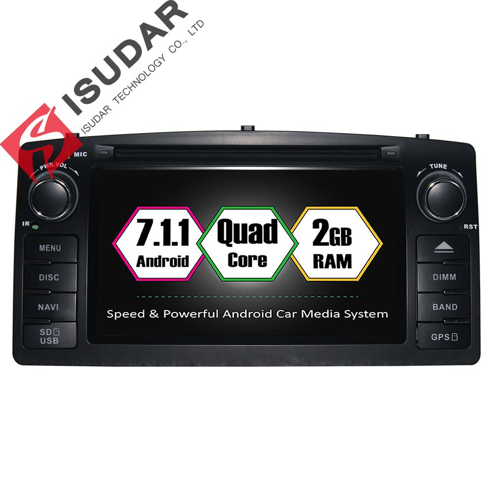 Android Two Din Inch Car DVD Player For BYDF For Toyota - Free satellite maps online