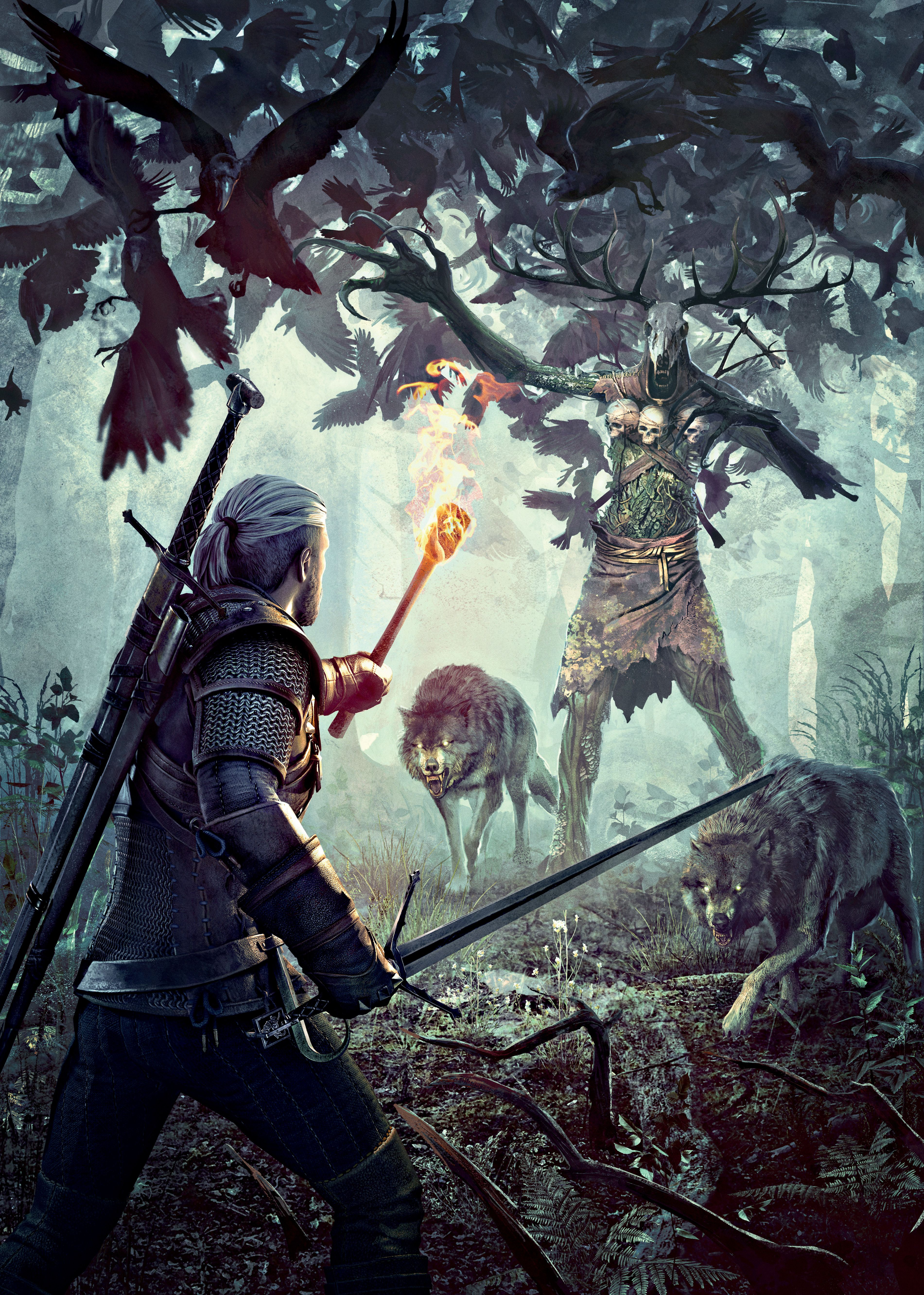 The Witcher 3 Wild Hunt Leshen Cover2 By Scratcherpen Deviantart Com On Deviantart The Witcher Wild Hunt The Witcher Geralt The Witcher The witcher 3 wild hunt art