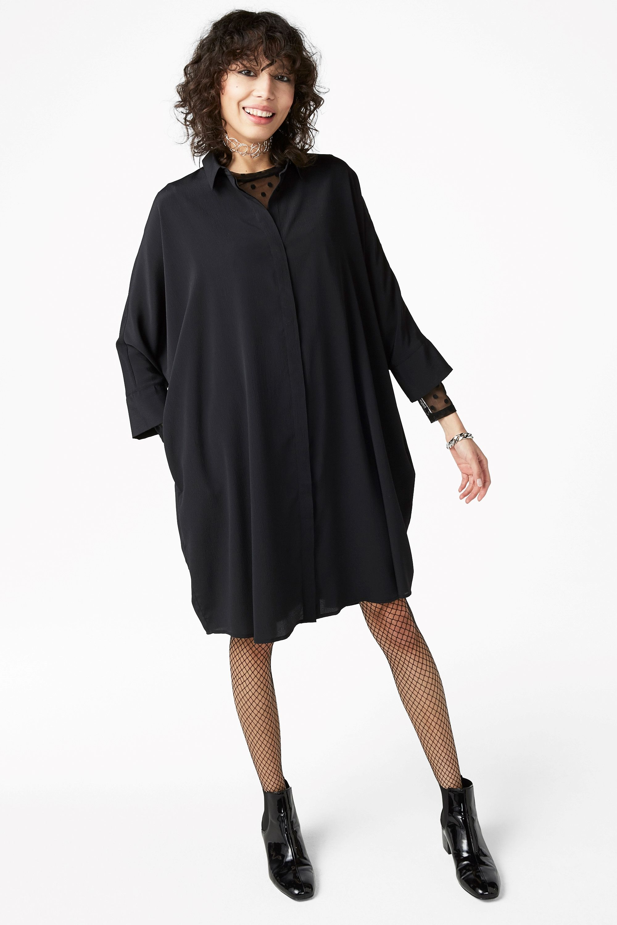 This Shirt Dress Is The Best Seriously Just Look At It Its Flowy