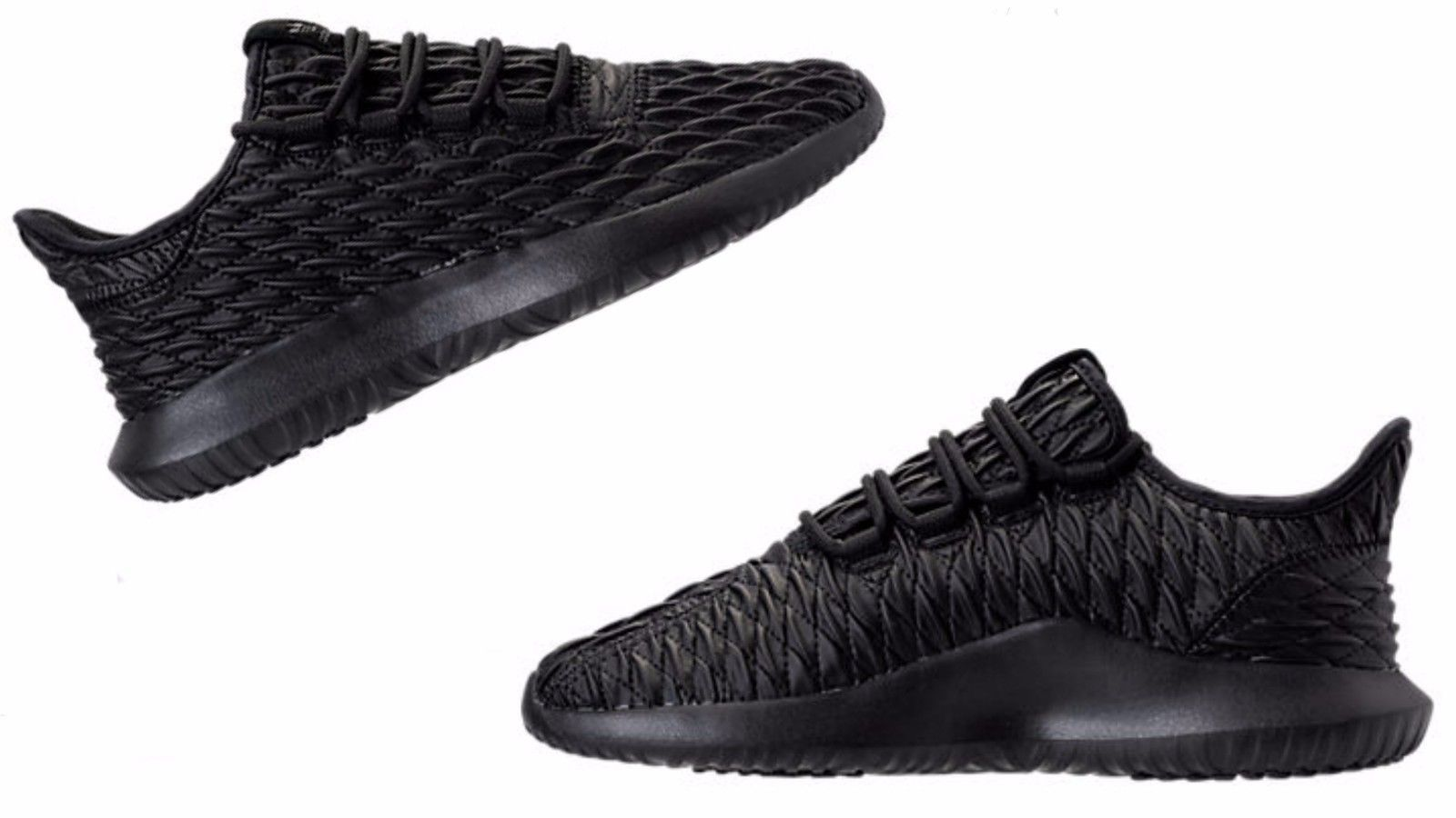 fc314beb168 Mens Adidas Originals TUBULAR SHADOW Black Utility Black Black BB8819