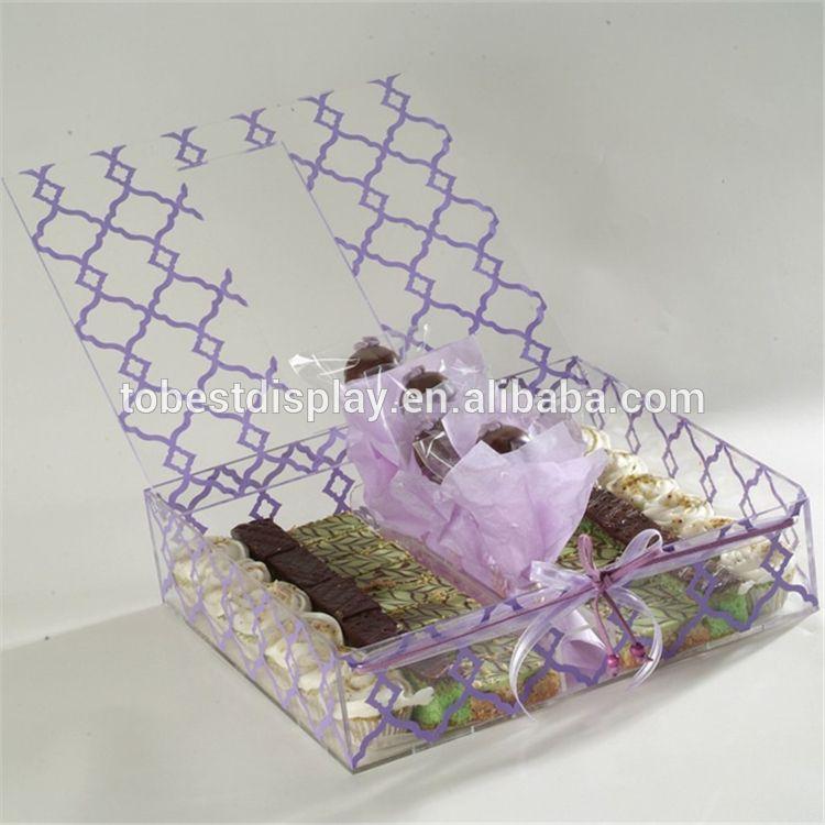 الاكريليك شبكي الشوكولاته هدية مربع الشوكولاته مربع التعبئة والتغليف علب الهدايا حلويات محلية الصنع Chocolate Gift Boxes Acrylic Box Chocolate Box Packaging