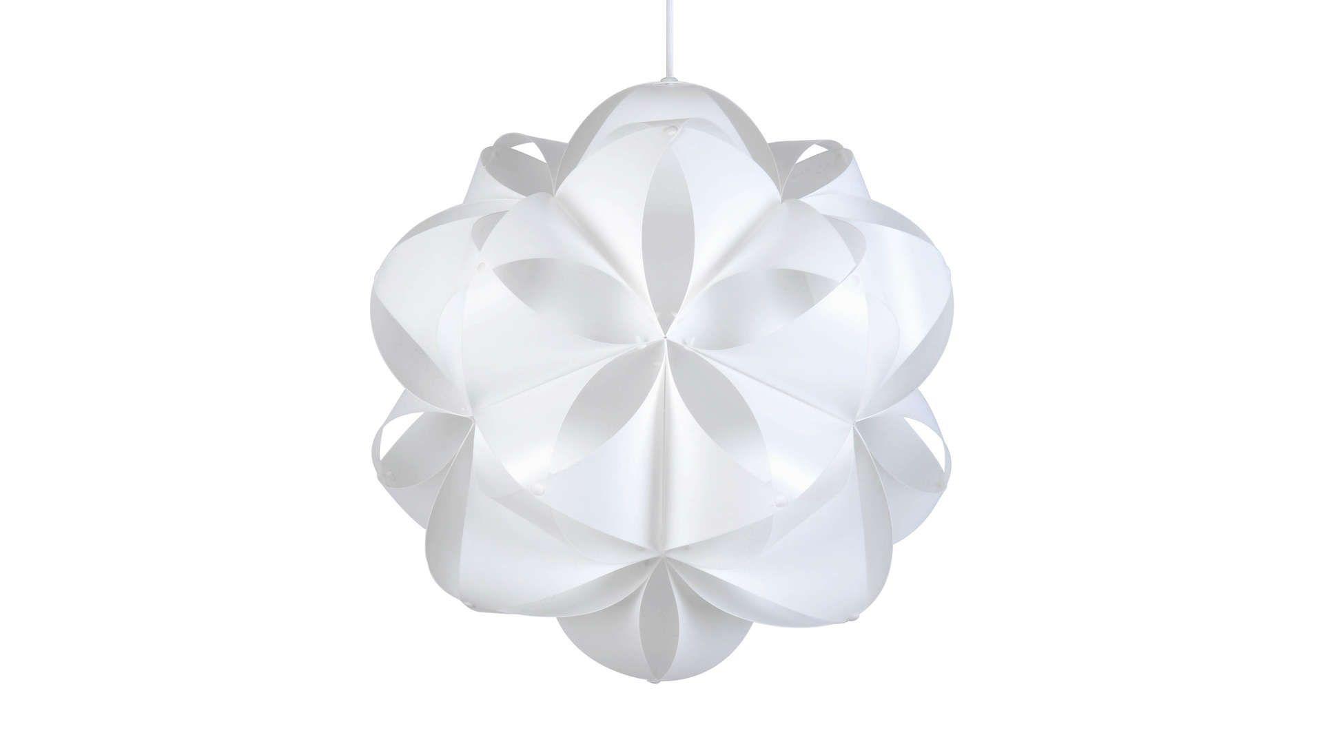Suspension Plastique Nid D Abeilles Coloris Blanc Decoration