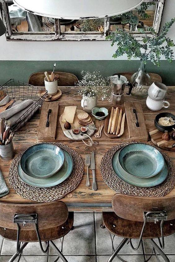 boho style house bohemian decor hippie fashion house in 2020 farmhouse style kitchen table on boho chic kitchen table decor id=18985